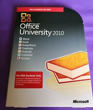 MICROSOFT OFFICE UNIVERSITY 2010  FOR DSA STUDENTS ONKY GENUINE PUBLISHER CODE