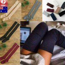 Over The Knee Long Girl Women Socks Thigh High Cotton Fashion Stockings Leggings