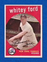 1959 TOPPS #430 WHITEY FORD NM YANKEES