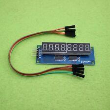 74HC595 8Bit 8-Digit LED Display Module Red Digital Tube for Arduino new
