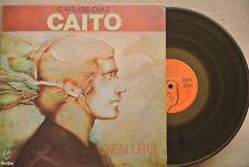 CARLOS DIAZ CAITO -DENTRO- GATEFOLD COVER MEXICAN LP VINYL TROVA MUSIC