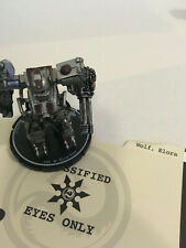 MechWarrior Steel Wolves Elora Wolf, Firestarter w/Dossier