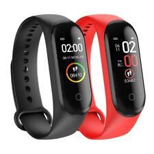 M4 Smart Band Fitness Tracker Watch Sport Bracelet New Blood Rate Heart Sport A+