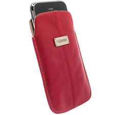 Krusell Tasche LUNA für Apple iPhone 5 rot L Long Etui Hülle Cover Case 95396