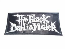 THE BLACK DAHLIA MURDER EMBROIDERED PATCH