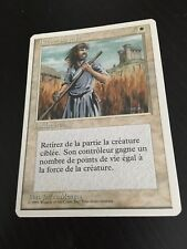 MTG MAGIC 4EDT SWORDS TO PLOWSHARES (FRENCH RETOUR AU PAYS) NM
