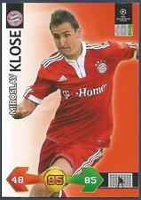 PANINI UEFA CHAMPIONS LEAGUE 2009-10 TRADING CARD-BAYERN MUNICH-MIROSLAV KLOSE