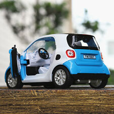 1:32 Mercedes-Benz Smart Fortwo Die Cast Model Toy Car With Light & Sound Gift