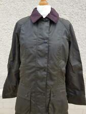NEW Womens BARBOUR Classic Beadnell Waxed Jacket Olive Size USA 4, 6, 8 and 10