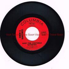 "4-45079 Simon & Garfunkel - Bridge Over Troubled Water NM/NM 7"" EP"