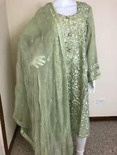 Pakistani Indian Designer Party Wear Salwar Kameez L, XL