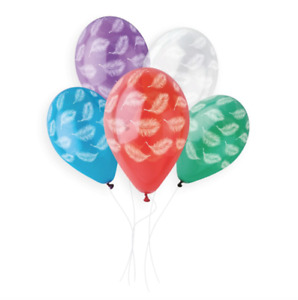 """White Feathers On Crystal 13"""" Latex Balloons - Packs of 10, 25 or 50."""