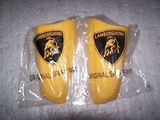 2002-2010 Lamborghini Murcielago LP640 Pair of NEW OEM Yellow Shoulder Cushions