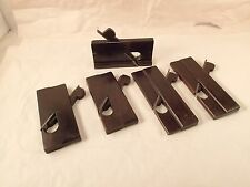 Vintage Set of 5 Rosewood Carriage, Coach Maker Molding Planes