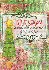 Tis The Season - Large Garden Flag - Brand New 28x40 Christmas 0064