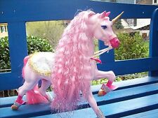 "BARBIE Flying Hero Horse GALAXY Pferd OOAK Repaint Unicorn ""Armora"""