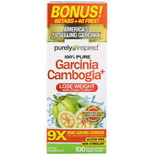 Garcinia Cambogia & Green Coffee Bean Strong Extract 100 Tabs   Weight Loss Diet