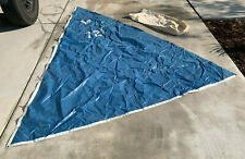 1970s Thurston Sail 10' Luff Sailboat Sail with Rooster #721