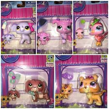 Choose Any 3 Littlest Pet Shop Mom Baby Dachshund Tiger Elephant Poodle Bird