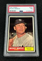 New York Yankees Mickey Mantle 1961 Topps #300 PSA 7 Near Mint Well Centered