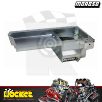 Moroso Steel Road Race Rear Sump Oil Pan w/ Filter Mount Fits Chev LS - MO20142