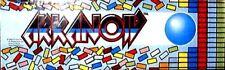 """Arkanoid"" Original Arcade Marquee Plexiglas Nos marquee Brand New!"