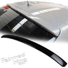 2009 2012 FOR Audi A4 B8 4D Roof Spoiler ABS Painted LY7W