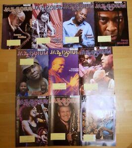 Jazz Podium 2008 komplett Jahrgang Zeitschrift Musik Magazin Sammlung Hefte