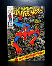 COMICS: Amazing Spiderman #100 (1971), Anniversary issue/1st cameo 6-Arms Spidey