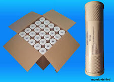 25 Filtri Carbone Attivo CTO Depuratore Addolcitore Acqua 10'' (SIGILLATI) Stock