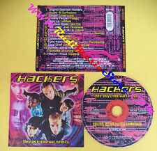 CD SOUNDTRACK Hackers Soundtrack 0022562CIN EU 1996 no lp dvd mc vhs(OST4)