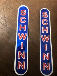 2 Schwinn Scrambler Fork 1981 DECALS NEW OLD STOCK