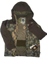 NEW $290 Burton Caliber Jacket!  2L Dryride Saw Camo / Mocha Block   Camouflage