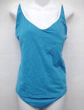 JAG PLUS SIZE Blue Cross-back Tankini Swimsuit 18 20 Cup C D