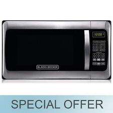 Black & Decker 1000W  / 1.1 cu. ft.  Microwave Stainless Steel - NEW