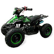 "Kids Quad Bike Falcon 49cc Big 6"" Tubeless Tyre Safety switch Hydraulic Brake Gr"