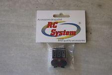 Z136 Rc system RCA0056 CONTROLEUR DE BATTERIE LIPO 8S AVEC BUZZER VOLTMETRE