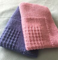Knitting Pattern- Alia Baby Blanket ~ Easy Knitting Pattern.