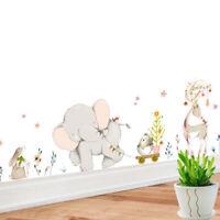 Wall Forest Flower Animal Sticker Baby Bedroom Decoration Vinyl Wallpaper Decals