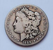 KEY DATE!!  1889-CC U.S. MORGAN SILVER DOLLAR ~ GOOD CONDITION