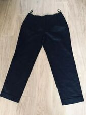Next Black Linen Trousers  14 New With Tags