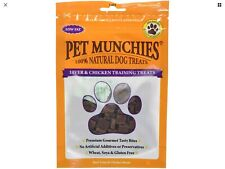 Pet Munchies Liver and Chicken Low Fat Dog Training Treats 50g, Pack of 8