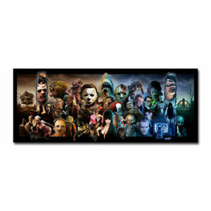 """Expendables Of Horror Movie Poster HD Canvas Print 12"""" 16"""" 20"""" 24"""" Sizes"""