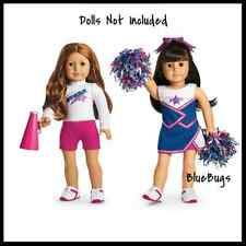 NEW in Box American Girl Retired 2 in 1 Cheer Gear PomPoms  NO DOLLS