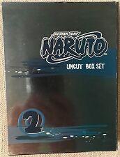 Naruto 2 Uncut - Box Set Vol. 2 (DVD, 2006, Uncut; Multi-Disc Set)
