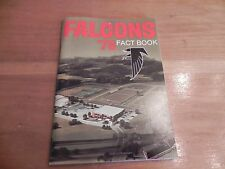 1978 NFL Atlanta Falcons fact book / media guide