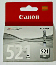Canon 521 Gray 9ml Ink Cartridge - For Pixma MP980 / MP990 - CLI-521GY