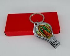 12xOur Lady Of Guadelupe Keychain Nail Clipper Bottle Opener Favor Baptism Recue