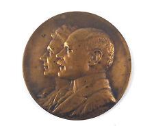 """Belgian bronze medal """"LA PROTECTION DE l'ENFANCE"""" 1912 by Paul Theunis"""