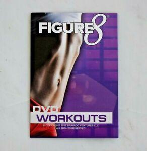 Figure 8 Workout Program DVDs Jaana Kunitz Cardio Core Abs Workout 2 DVD's *NEW!